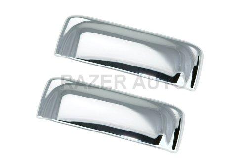 Razer Auto Chrome 2 Door Handle Cover for 2006-2011 Ford Ranger/2003-2010 Mazda B Series/1996-2001 Ford Explorer