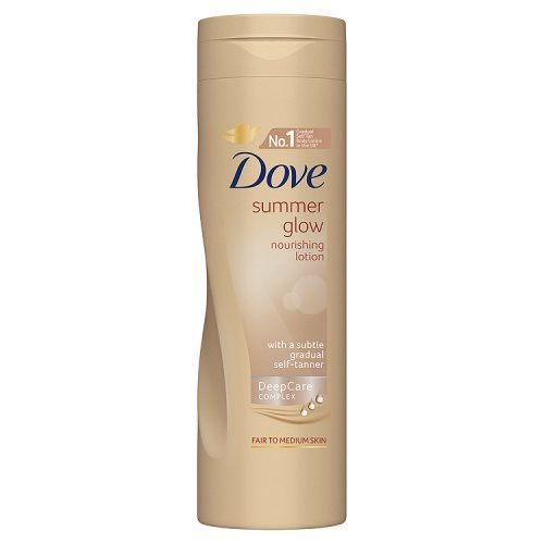Dove Summer Glow Nourishing Lotion for Fair to Medium Skin 250ml