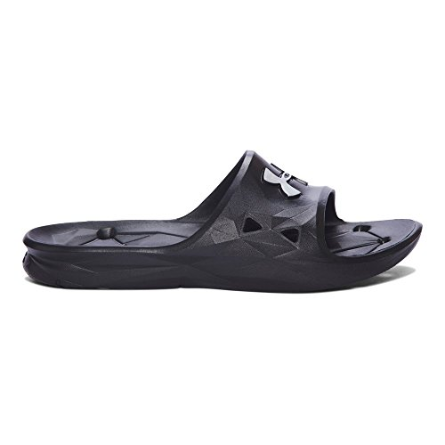 Under Armour Men's Locker III Slide Sandal, Black /Metallic