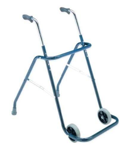 Andador caminador dos ruedas interiores plegable, de acero ...