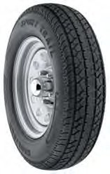 Americana Tire & Wheel With Tire 5 Lugs St175/80d13-B Spoke White 3S050