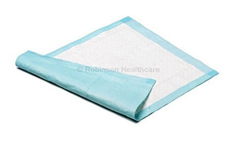 Readi Disposable Bed Pads 60 x 90cm 1400ml Absorbency - Pack of 100 by Robinson Healthcare