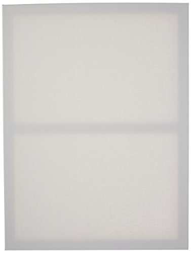 Darice 18-Inch-by-24-Inch Stretched Canvas, 2-Pack Primed Canvas