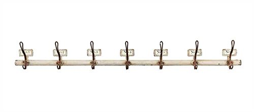 Numbered Wall Hook Rack - Set Of 2