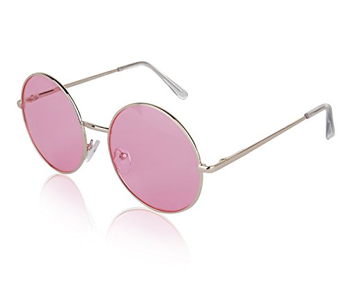 Lavender Womens Sunglasses - Sunny Pro Vintage Sunglasses Gold Classic Womens Oversize Glasses For Men Pink