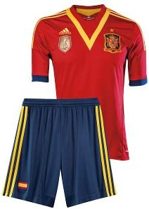adidas - Spain Home Mini Kit - Conjunto España Niño: Amazon.es ...