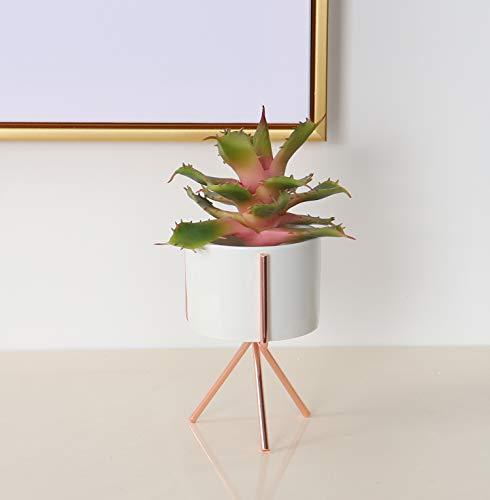 Duovlo-Artificial-Succulent-Plant-515-Inch-Faux-Succulents-Agave-potatorum-Flower-Arrangement-Craft-Wall-DIY-MaterialsPack-of-2-Pink