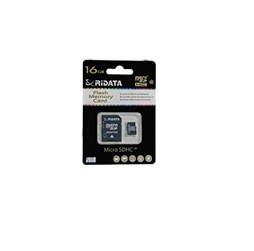 Ridata 16GB Micro-SD Card Class 10 With SD Adapter Included