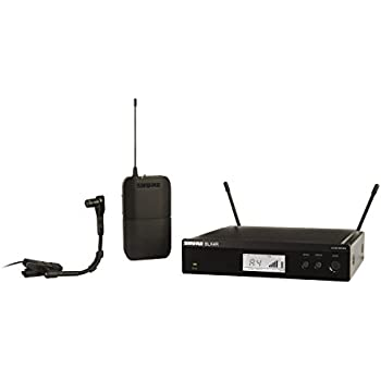 shure blx14r b98 instrument wireless system with beta98h c clip on microphone rack. Black Bedroom Furniture Sets. Home Design Ideas