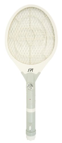 Rechargeable Insect Swatter and Flashlight - SPT SET-204G