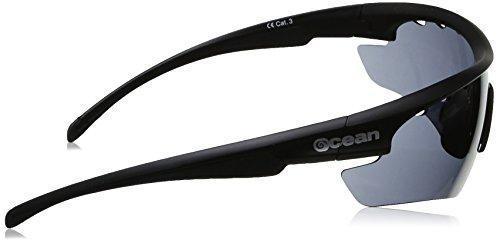Ocean Sunglasses Ironman - lunettes de soleil - Monture : Noir Mat - Verres : Fumée (90000.4) dSPpXtknGi