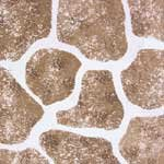Stone Wall Patio Wall Stencil | DIY Home Decor Stencils | Paint Stencil for Walls, Furniture, Floors, Fabric (Painting Concrete A Patio)