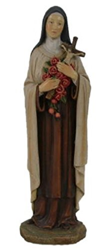 GIOVANNI Turtle King St Therese of Lisieux Statue Catholic Saint Statue Figure 12 inches -