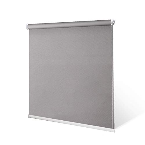 SCHRLING No Drill Daylight Roller Shade Tension Inside Mount Expansion Window Blind,Custom ()