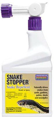 (12) bottles Bonide # 8752 32 oz Ready To Spray Hose End Snake Stopper Repellent Spray by Bonide