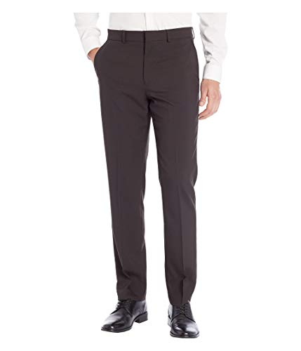 Dockers Men's Slim Fit Trouser with Stretch Waistband, Black, 36x32 (112 32)