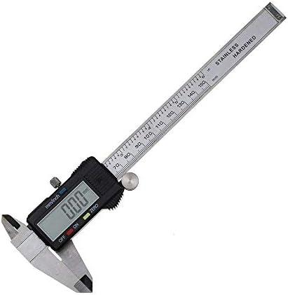 GUONING-L tool 0-150mm/0.01 precision stainless steel digital electronic digital vernier caliper with depth measurement (Size : 0-150mm) Digital Caliper