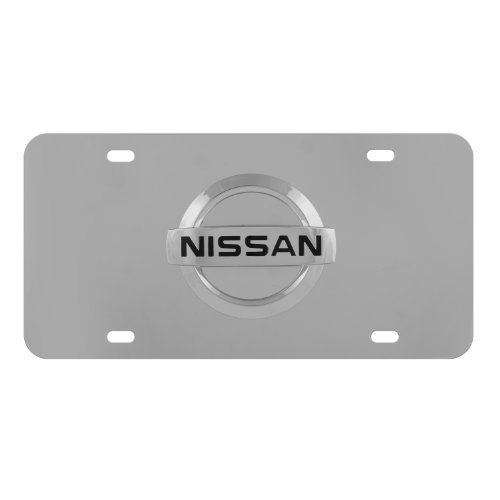 Pilot Automotive LP-151B Nissan Chrome 3D License Plate (License Frame Nissan Plate)
