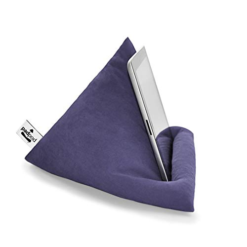 Steel Blue Padpod Mini Beanbag for iPad