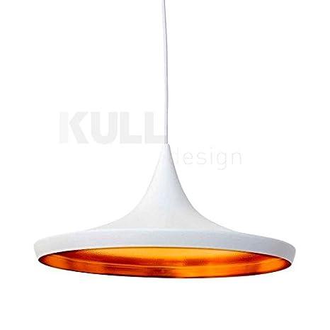Lámpara Beat Wide Blanca. Lámpara de techo inspirada en el ...
