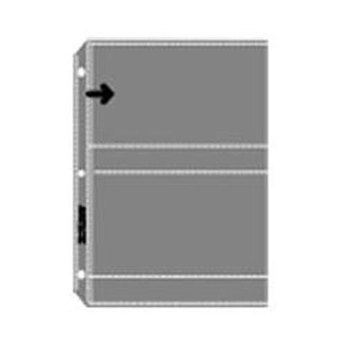 Archivalware Polypropylene Photo Album Pages, 4 mil, Holds 4 Prints 4'' X 6'', Pack of 100. by Archivalware