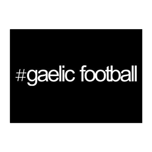 Idakoos - Hashtag Gaelic Football - Sports - Sticker Pack x4