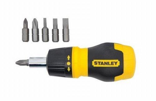 Bostitch Stanley 66-358 Stanley® Multibit Stubby Screwdriver With Bit Holder