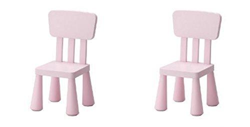 Ikea Mammut Kids Children's Chair (2, Light Pink)