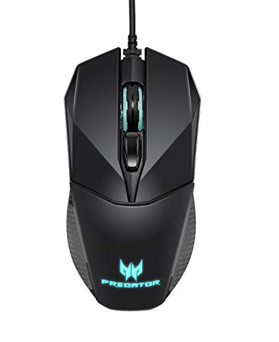 Acer Predator Cestus 300 RGB Gaming Mouse – Dual Omron switches 70M click lifetime, On board memory and programmable…