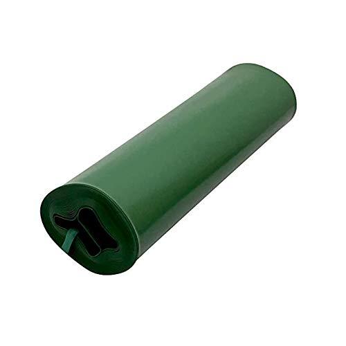 Frost King DE300 Standard Plastic Drain Away Downspout Extender, Extends 12-Feet, Green (2 Pack)