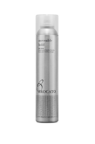 Shaping Spray Finishing (Brocato Moveable Hold Flexible Hairspray by Beautopia Hair: Anti-Humidity UV Protection Finishing Spray - 10 oz)