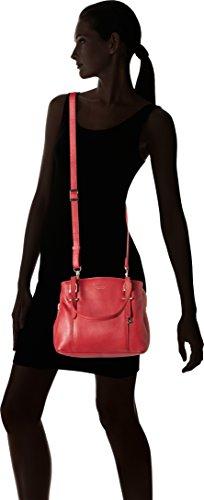 LE TANNEUR - Capucine, bolso de bandolera Mujer, Rouge (Amour), 13,5x22x25 cm (W x H L)