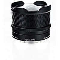 Rokinon RMC12-E RMC Multi-Coated 12mm F7.4 Fisheye Lens for Sony-E