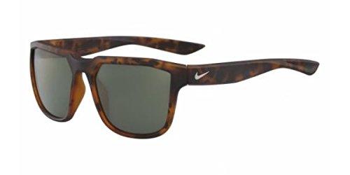 Matte Tortoise//Gunmetal Frame Green with Flash Lens Nike EV0927-205 Fly Sunglasses