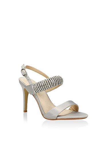 Zapato de tacón MARTINA plata