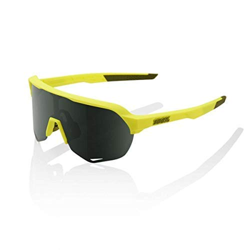 Image of 100% S2 Sunglasses-Soft Tact Banana-Grey/Green