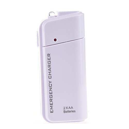 Price comparison product image SODIAL(R) USB Emergency Battery Charger Flashlight for Cellphone iPhone iPod White