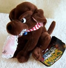 Infamous Meanies Bill Clinton Dog Buddy Plush Monica Lewinski - Monica Mall