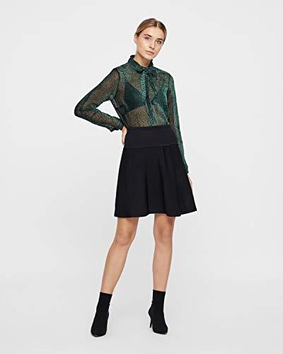 Jupe Nmph 0000 Eunice Femme Caviar Noir Skirt EqBq4r1