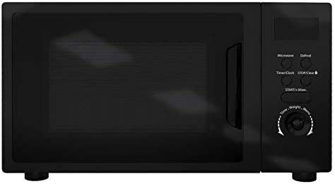 SIA DTM20BL 20L Freestanding Black Digital Control Microwave Oven 5 Power Levels
