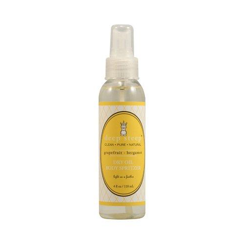 Dry Oil Body Spritzer Grapefruit Bergamot Deep Steep 4 oz (Dry Oil Spritzer)