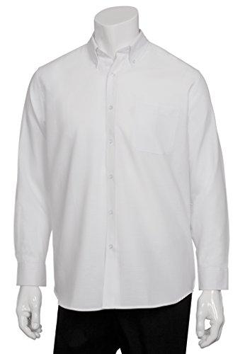 forms Mens Oxford Dress Shirt, White, 5X-Large (Poplin Oxfords)