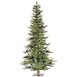 Vickerman Ashland Pine Cones with 741 Tips, 6-Feet by 41-Inch