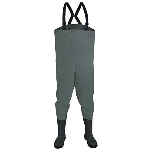 Dönges 256313 - Trampolieri, 43, stivali di sicurezza s5, m, grigio,