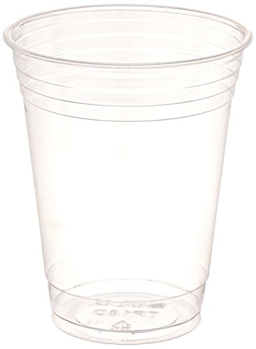 SOLO Cup Company Plastic Party Cold Cups, 16 oz, Clear, 1000 Cups for $<!--$78.99-->