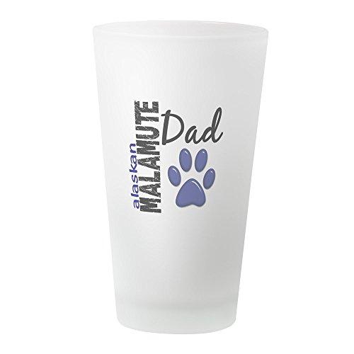 CafePress Alaskan Malamute Dad 2 Pint Glass, 16 oz. Drinking Glass