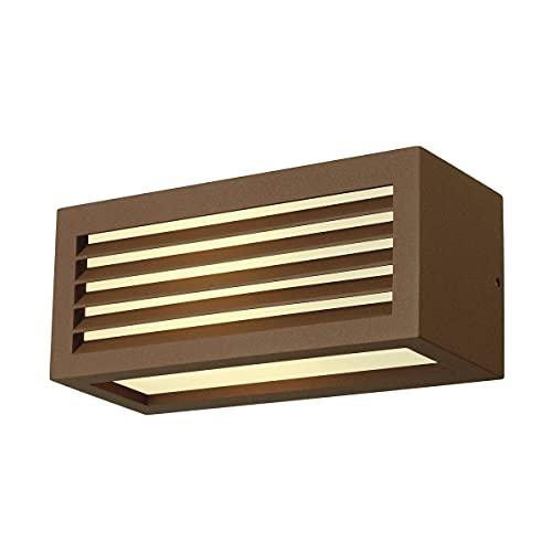 Slv box-l - Aplique exterior e27 18w oxido