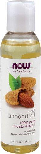 NOW Almond Oil 4 Ounces Pack
