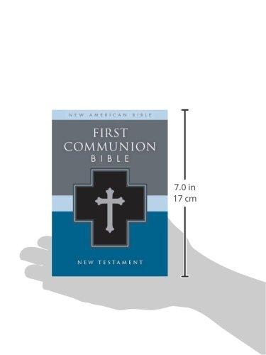 NAB First Communion Bible New Testament Imitation Leather Black NAB New Testament