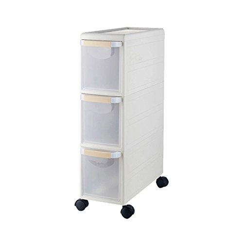 Armarios de Almacenamiento Cocina para el hogar armarios de Almacenamiento Estrechos estantes con Clip gabinetes de cajones...